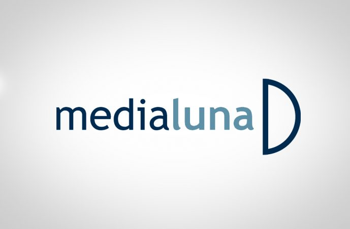 Logomarca Medialuna